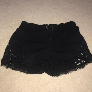 Lacey Black Shorts